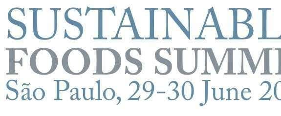 Sustainable Foods Summit em São Paulo