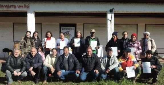 Produção orgânica recebe certificação em Piratini