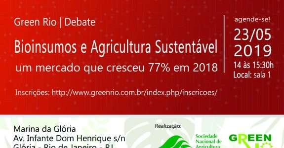 SNA e CI Orgânicos promovem debate sobre bioinsumos no Green Rio