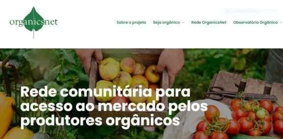 SNA lança novo site da rede OrganicsNet