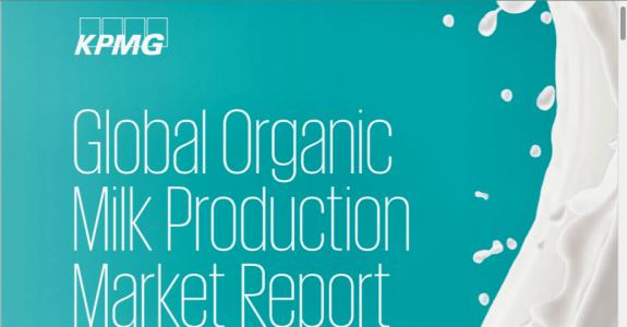 Produção mundial de leite orgânico: Informe