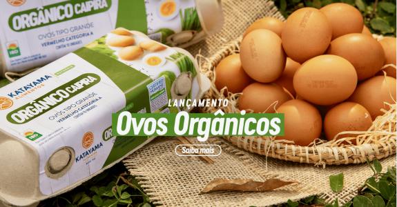 Katayama Alimentos ingressa no mercado de ovos orgânicos caipiras